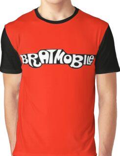 bratmobile logo riot grrrl 90's olympia Graphic T-Shirt