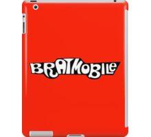 bratmobile logo riot grrrl 90's olympia iPad Case/Skin