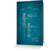 Toy Soldier Patent 1921 Greeting Card