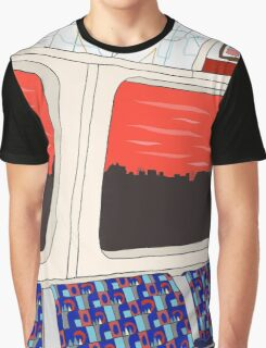 View from London Jubilee Line Graphic T-Shirt