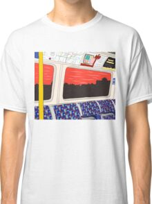 View from London Jubilee Line Classic T-Shirt