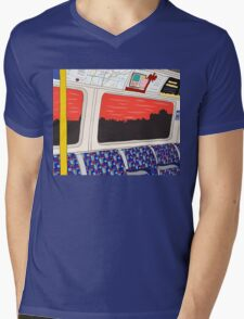View from London Jubilee Line Mens V-Neck T-Shirt