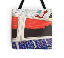 View from London Jubilee Line Tote Bag