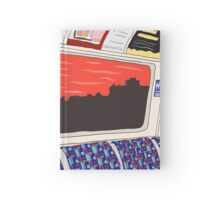 View from London Jubilee Line Hardcover Journal