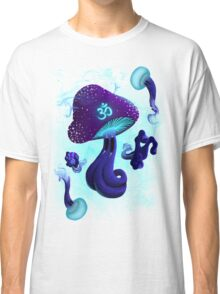 Psychedelic om shroom Classic T-Shirt