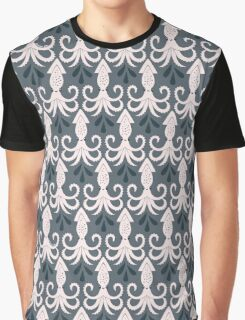 Pale Squid Dark Ink Graphic T-Shirt