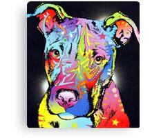 Dog color Canvas Print