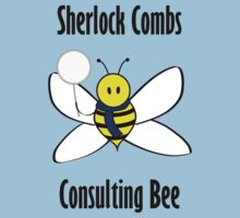 Sherlock Combs, Consulting Bee One Piece - Short Sleeve