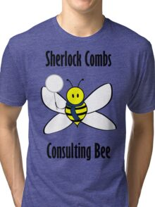 Sherlock Combs, Consulting Bee Tri-blend T-Shirt