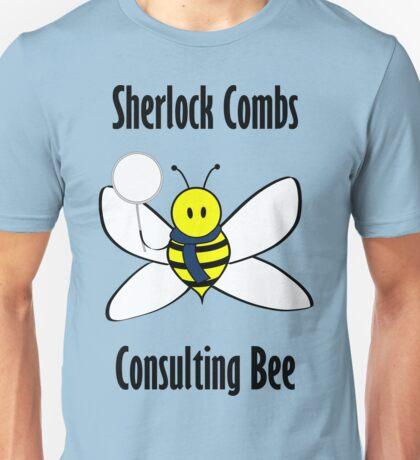 Sherlock Combs, Consulting Bee Unisex T-Shirt