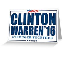 Clinton Warren 2016 Greeting Card