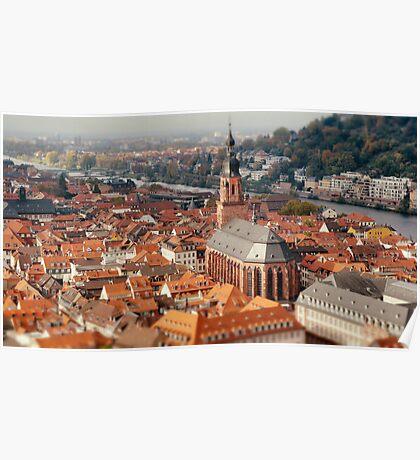 Heidelberg Rooftops Poster