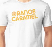 Orange Caramel design Unisex T-Shirt