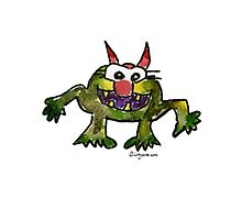 Funny Cartoon MonSTAR Monster 006 Photographic Print