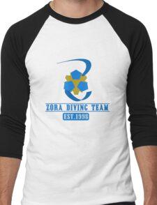 Zora Diving Team Men's Baseball ¾ T-Shirt
