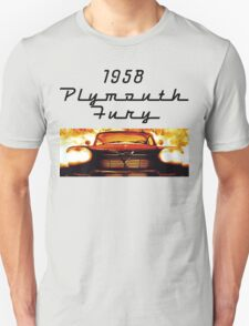 Christine - 1958 Plymouth Fury (Fire) T-Shirt