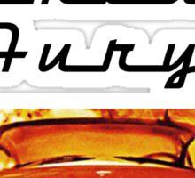 Christine - 1958 Plymouth Fury (Fire) Sticker