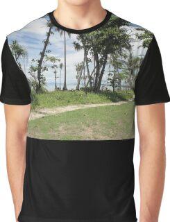 North Mission Beach Path 26 Jan 2012 Graphic T-Shirt
