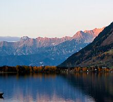 Zell am See Evening by Adam Valstar (Duckfarm)