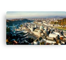 City of Salzburg Canvas Print