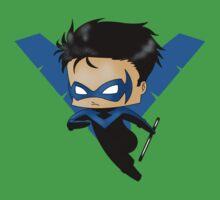 Chibi Nightwing Kids Clothes