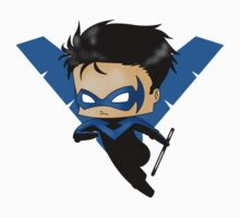 Chibi Nightwing Kids Clothes