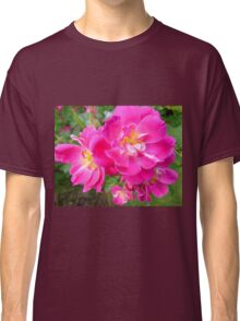 Brilliant Pink Rose Classic T-Shirt