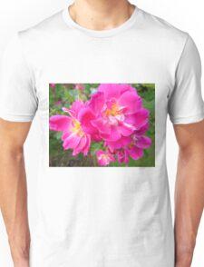 Brilliant Pink Rose Unisex T-Shirt