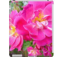 Brilliant Pink Rose iPad Case/Skin