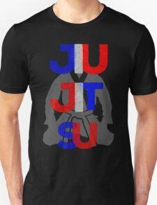 Red, White, and Blue Jitsu Unisex T-Shirt
