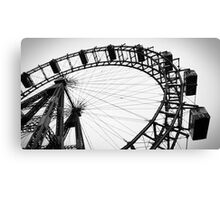 Wiener Riesenrad Canvas Print