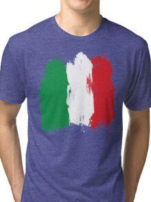 Italy - Paint Splatter Tri-blend T-Shirt