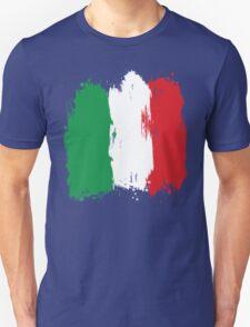 Italy - Paint Splatter Unisex T-Shirt