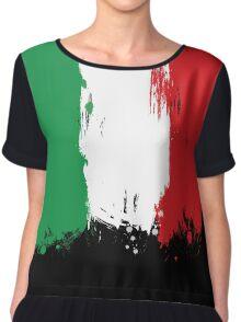 Italy - Paint Splatter Chiffon Top