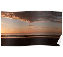 Impressive cloud at Sunset, Long Beach, 'Robe' Limestone Coast. Sth. Aust. Poster