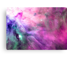 Orion Nebula [Pink Clouds] Stickers and Shirts Canvas Print