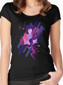 Purple Ghost Women's Fitted Scoop T-Shirt