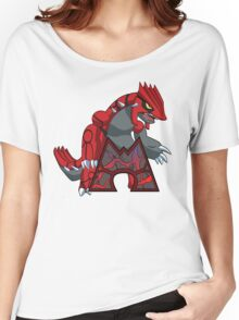 Team Magma - Groudon Women's Relaxed Fit T-Shirt