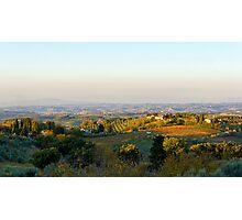 Tuscan Hills Photographic Print