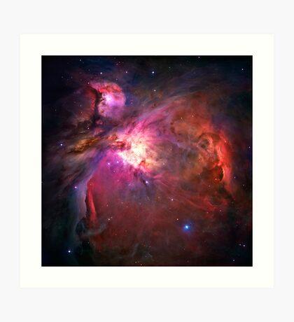 Orion Nebula [Pink] | Fresh Universe Art Print