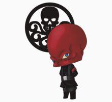 Chibi Red Skull T-Shirt