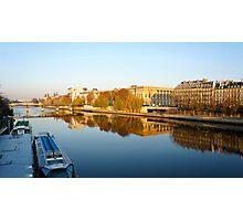 River Seine Photographic Print