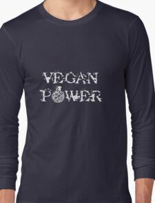 Vegan Power Long Sleeve T-Shirt