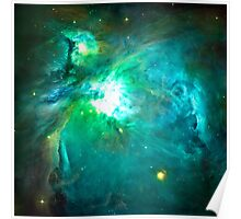 Orion Nebula [Green] | Fresh Universe Poster