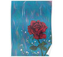 rose pillow Poster