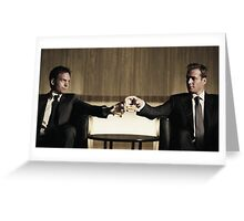 Suits friendship Greeting Card