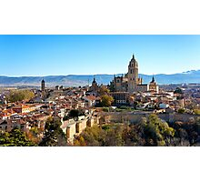 A View of Segovia Photographic Print