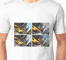 NYC Times Square. New York City Taxi. Unisex T-Shirt