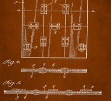Soldier Armor Patent 1919 Sticker