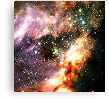 Messier 17   Fresh Universe Canvas Print